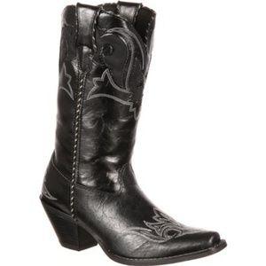 6.5M Crush by Durango Black Western Boots